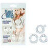 Колечки прозрачные MAGIC C-RINGS 1429-25 CD SE ЭФ